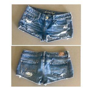 AE short shorts